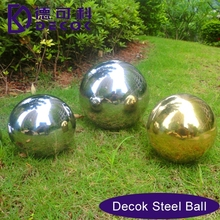 19mm to 3000mm hollow steel pshere customized decoration 350mm hollow garden metal sphere balls with mirror surface