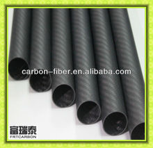 tube de fibre de carbone de 3 axes sans balai de carbone à cardan