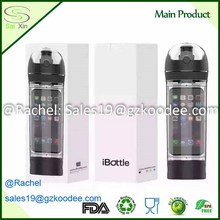 BPA free Ibottle design portable plastic telephone water bottle convenience for apple phone and earphone