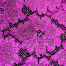 Factory Wholesale Rachel Lace Fabric 100% Polyester Nylon Embroidery Mesh Type Lace Fabric for Wedding and Party Decoration