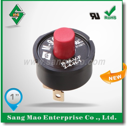 manual thermal overload protector switch for fan motor