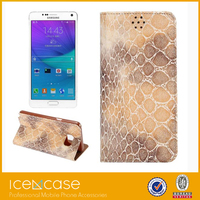 2015 best selling Mobile Phone Case for Samsung note5,leather flip cover case for note5