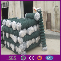 Garden fences pvc coated chain link fence/chain link fence for roll/fence chain link