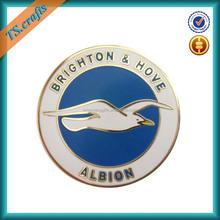 Custom metal lapel pin badge guard