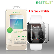 Factory price screen protector film tempered glass screen protectors for apple watch 2