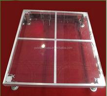 4'X4' dual-use aluminum stage frame acrylic Platform stage