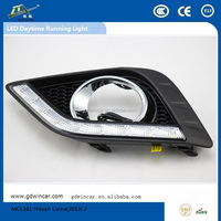 (2012) Wholesale high quality 12V led fast selling LED Daytime Running Light suitable for Nissan Livina system