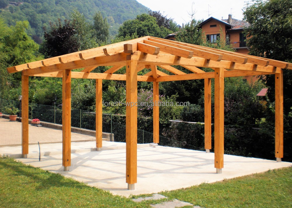 wpc riss best ndig pergola guten preis holz kunststoff verbundmaterial pavillon wpc decking. Black Bedroom Furniture Sets. Home Design Ideas