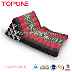 New model bulk sale China factory made thai triangle cushions