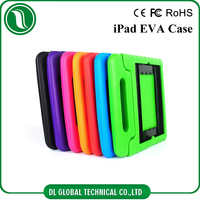 Kids foam case with handle for iPad, EVA waterproof protective case for iPad 2 3 4