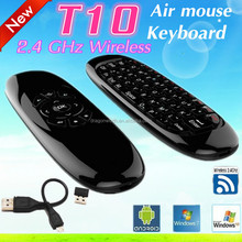 High Quality And Cheap T10 C120 Keyboard 2.4Ghz Wireless Intelligent Air Mouse