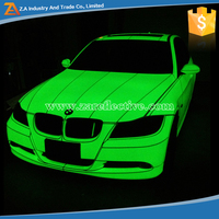 2015 New Arrival Products Photoluminescent Film, Glow In The Dark Car Sticker
