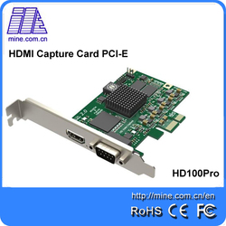 1080P 60fps HD video capture card with HDMI + CVBS /AV input embedded audio
