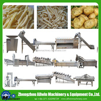 full automatic fresh potato chips making machine frozen french fries maker