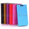 Wood Grain Wallet Magnetic Flip Stand Leather PC+PU Cover for HTC Butterfly2