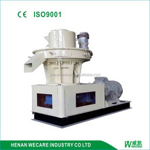 Efficient centrifugal pellet machine