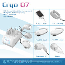 cooling vacum massager portable Lipolysis Cryo Slim Equipment - Cryo Q7
