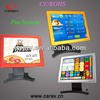"Touch screen computer 17"" POS solution/ Cash payment solution/ payment system hardware"