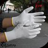 SRSAFETY 13g white polyester palm coated PU homework glove
