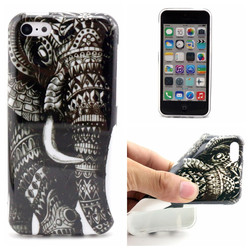 Colored drawing TPU case for iPhone 5C,for iPhone 5C soft TPU gel case cover