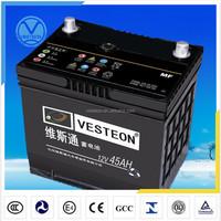 N180 high capacity car battery 12v180ah