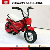 250W,24V cheap electric dirt bike for kids