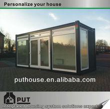 pu sandwich panel prefab container houses
