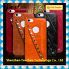 Popular colorful soft pu leather cover for iphone 6/6 plus case