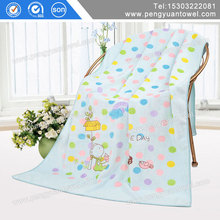 Multifunctional quick dry microfiber fabric yard for bath towel with CE certificate