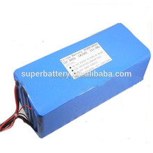High Capacity 12v 60AH 18650 rechargeable li Ion Battery for solar storage
