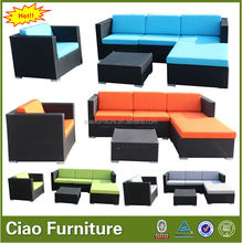 new design outdoor rattan garden furniture 2014