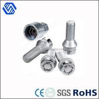High tensile carbon steel hot dip galvanized security bolt and nut