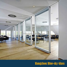 LT 4mm-15mm thick tempered glass wall partition with competitive price