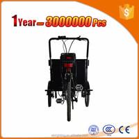 central motor electric cargo bike moto 3 wheels trike