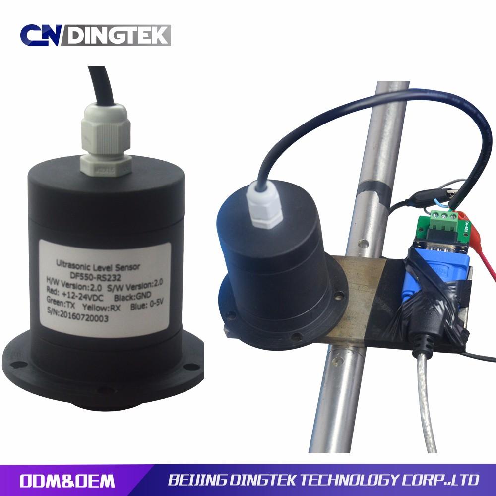 Cndingtek高品質lora超音波レベルセンサ用空気、液体、固体身長計算