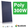 CE ISO certificate approved Bluesun factory poly 300w solar panel price pakistan for promotion