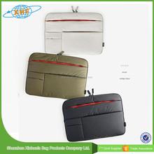 2015 Hot Sale 7-17 Inch Neoprene Laptop Sleeve Without Zipper