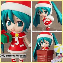 hot design 3d red hat cartoon girl figure,diy your own cartoon plastic movable figure,diy cartoon movable action figure maker