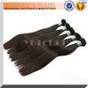 Double drawn hair extensionn silky straight peruvian hair in china