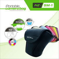 Small Camera Case/Smart Camera Bag/NEOpine Camera Neoprene Vintage Camera Case- NE-SLR L