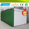 Galvanized steel sheet mobile garage for car parking