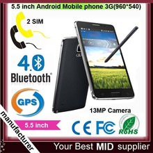 Cheap and perfect ! N910 Quad Core Android OS Phone low price china mobile phone
