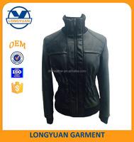 cheap women spring jackets black leather jacket petite