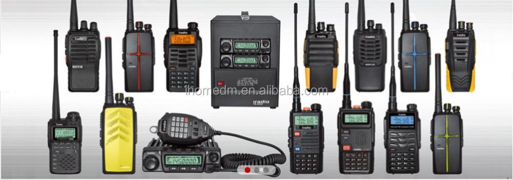 Prix bas longue distance gamme talkie walkie poignet deux way radio