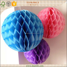 promotional hanging paper ball decoration for Party Event