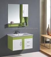 2014 refreshingly green bathroom cabinet with towel bar