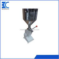 Low price best-Selling manual liquid/cream/paste oil filling machine