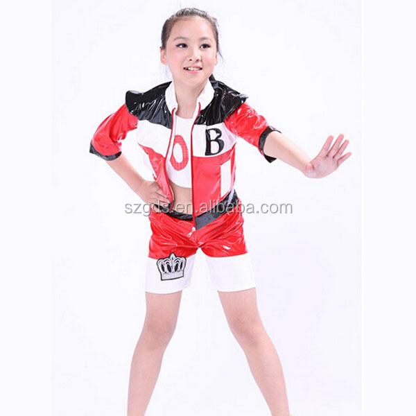 Children Cheerleading Costumes Boys And Girls Costume Hip-hop Jazz Kids Modern Dance Costume ...