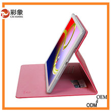 Alibaba express rotary leather pu cover case for ipad mini