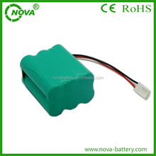 high quality aa 800mah 7.2v ni-mh rechargeable battery